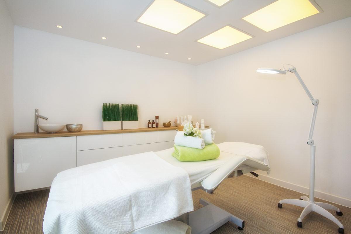 Behandlungsraum für Kosmetik